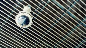 Kabeltelevisie-de Camera van het Veiligheidstoezicht Royalty-vrije Stock Foto