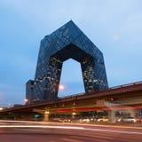 Kabeltelevisie-Hoofdkwartier in Peking, China Royalty-vrije Stock Afbeeldingen