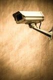 Kabeltelevisie op de muur Royalty-vrije Stock Fotografie