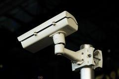 Kabeltelevisie-veiligheidscamera Stock Afbeeldingen