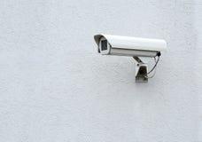 Kabeltelevisie-veiligheidscamera Stock Afbeelding