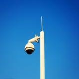 kabeltelevisie-veiligheidscamera, videotoezichtcamera Royalty-vrije Stock Foto's