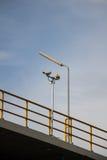 Kabeltelevisie-veiligheidsnokken. Stock Afbeeldingen