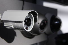 Kabeltelevisie-veiligheidsnokken Royalty-vrije Stock Afbeeldingen