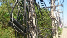 Kabeltråd Arkivbilder
