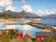 Kabelvag, Lofoten, Norway royalty free stock photos