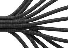 Kabelverbindungfaser 4 Stockfoto