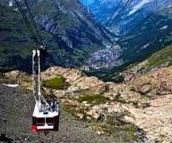 Kabelwagen stock afbeelding