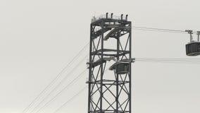 Kabelwagen in Brest, Frankrijk stock videobeelden