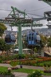Kabelwagen in Funchal Madera Stock Afbeeldingen