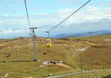Kabelwagen in Llandudno-Noord-Wales Royalty-vrije Stock Foto's