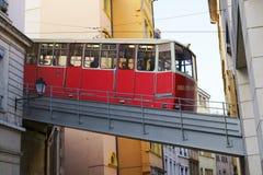 Kabelwagen, Lyon Stock Foto