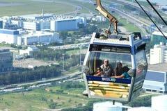 Kabelwagen op Lantau-Eiland Hong Kong Royalty-vrije Stock Foto