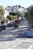 Kabelwagen, San Francisco Royalty-vrije Stock Afbeeldingen