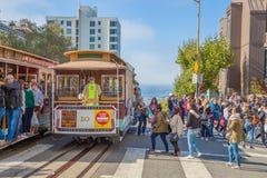 Kabelwagen San Francisco Stock Afbeeldingen