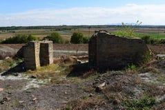 Kabile is een oude die Thracian-stad, rond de 4de eeuw BC wordt opgericht Op de stichtingen van een oudere regeling bij de voet royalty-vrije stock fotografie