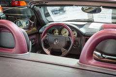 Kabin av Mercedes-Benz SLK 230 Kompressor (R170), 1999 Royaltyfri Foto
