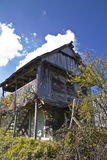 Kabin i vingården Royaltyfri Foto