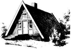 kabina royalty ilustracja