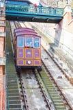 Kabina Gellert wagon kolei linowej, Budapest zdjęcia stock