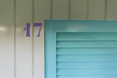 Kabina liczba 17 Zdjęcia Royalty Free