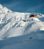 kabina śnieg Obraz Royalty Free
