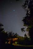 Kabina przy nocą Obrazy Royalty Free