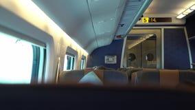 Kabina trener w pociągu zdjęcie wideo