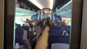 Kabina trener w pociągu zbiory