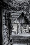 Kabina w drewnach Zdjęcie Royalty Free