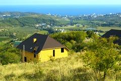 Kabina w górach Fotografia Stock