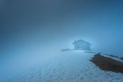 Kabina w górach Picos De Europa Zdjęcia Stock