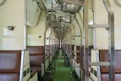 Kabine des thailändischen Zugs Stockfotografie