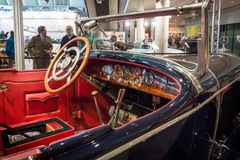 Kabine eines Größengleichluxusautos Mercedes 24/100/140 PS, 1925 Stockfoto