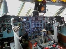 KABINE Ilyushin 76 Lizenzfreies Stockfoto