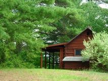 Kabine im Holz Stockfoto
