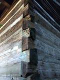 Kabine im Holz Stockbild