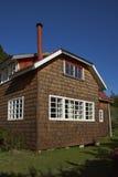 Kabine im Patagonia Stockfoto