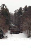 Kabine im Winter Lizenzfreie Stockfotografie
