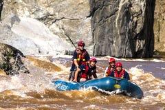 Kabine John River Rescue Patrol Stockfotografie