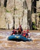 Kabine John River Rescue Squad auf dem Potomac, Maryland Lizenzfreies Stockbild