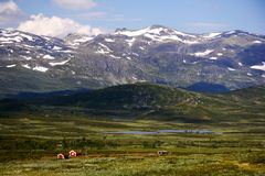 Kabine in Norwegen Lizenzfreie Stockfotografie