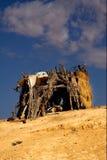 Kabine in Sahara Lizenzfreie Stockfotos
