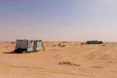 Kabinen in Mauretanien Stockbilder