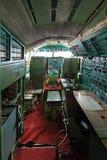 Kabinen Tu-144 Royaltyfri Bild