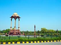 Kabinendach, Neu-Delhi Stockbild
