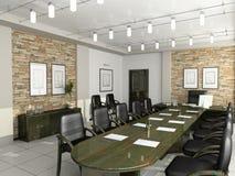 Kabinet van de directeur Royalty-vrije Stock Foto
