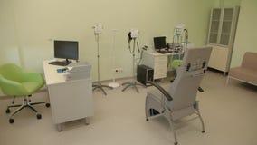 Kabinet van functionele diagnostiek stock videobeelden