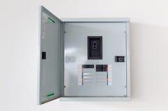 Kabinett för elektrisk strömkrets Arkivbild