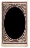 Kabinett fotografi för tappning royaltyfri foto